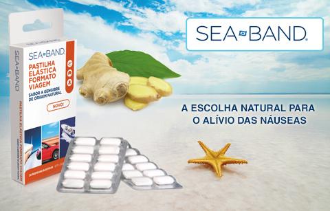 Sea-Band® pastilhas de gengibre